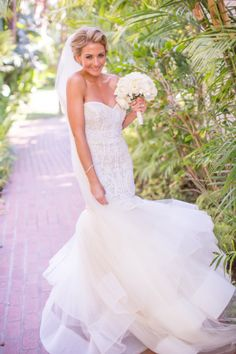 This dress is everything: http://www.stylemepretty.com/california-weddings/santa-barbara/2015/02/04/black-and-white-santa-barbara-summer-wedding/ | Photography: Jessica Lewis - http://www.jessicalewisphoto.com/