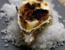 Oysters au gratin Bridge-the Bishop AOP