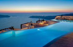 Grace <b>Santorini</b> hotel - <b>Santorini</b>, Greece - Smith Hotels Santorini Grecia, Santorini Hotels, Santorini Sunset, Santorini Travel, Cool Swimming Pools, Best Swimming, Sunset Wallpaper, Bill Cosby, Beautiful Hotels