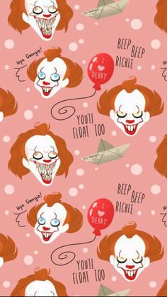 We all know the story behind Pennywise and the Loser's Club But what … Horror Et Wallpaper, Wallpaper Fofos, Wallpaper For Your Phone, Screen Wallpaper, Wallpaper Backgrounds, Iphone Wallpaper, Wallpaper Tumblr Lockscreen, Es Pennywise, Pennywise The Dancing Clown