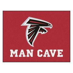 Atlanta Falcons Man Cave Area Rug