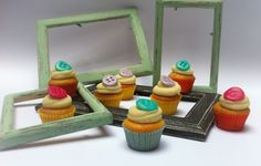 Mini cupcake all'albicocca e cioccolato bianco