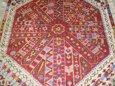 UZBEK Hand Embroidery Suzani of Bukhara Pomegranate Tree