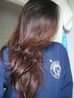 Got my hair henna dyed with Lush's Caca Marron!