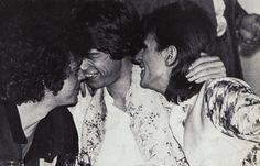 Lou Reed , Mick Jagger & David Bowie
