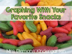 Are you looking for a way to get your students to LOVE graphing? Try using their favorite snacks!
