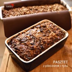 Polish Recipes, How To Dry Basil, Banana Bread, Lunch Box, Good Food, Food And Drink, Gluten Free, Vegetarian, Cooking