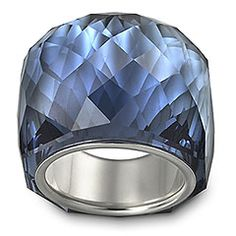 All crystal Swarovski ring, very neat, and they have other colors