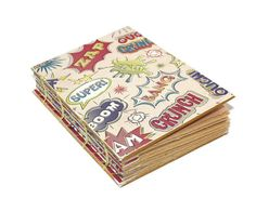 Comic Book Journal Cartoons Birthday gift  gift by Thenibandquill, $37.00 #journal #etsy #etsyhandmade