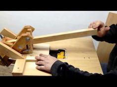 """Homemade """"Kreg Jig""""Pockethole Machine Drilling Hardwood 4 - YouTube"""