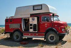 Mercedes Camper, Mercedes Benz Unimog, Mercedes G Wagon, Classic Campers, Classic Trucks, Small Motorhomes, Vw Bus, Travel Camper, Mercedez Benz
