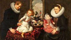 Cornelis de Vos (Flemish painter, c 1584-1651) Family Portrait