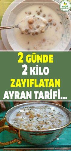Deneyip Olumlu Sonuç Alan Çok, Tarifi ve Nasıl Kullanılması gerektiği yazıyor. #diyet #zayıflama #sağlık #ayran #tarif #yemek #kilo