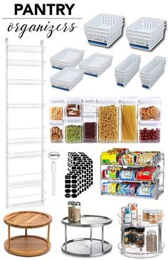 31 Affordable Organizational Items To Keep Your Home Fully Organized Like a Pro — Whatever is Lovely Small Pantry Organization, Home Organization Hacks, Pantry Storage, Organized Pantry, Refrigerator Organization, Pantry Ideas, Organize Small Pantry, Household Organization, Storage Units