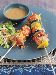 Alaska Salmon Satay Skewers is a great recipe and is full of nutrition and vitamins, high in protein and low in fat. Recipe Using Salmon, Quick Salmon Recipes, Great Recipes, Alaska Seafood, Alaska Salmon, Recipe Generator, Salmon Dinner, Sweet Chilli, Lean Protein