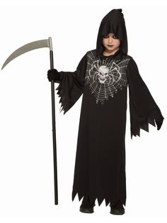 Complete Your Look With Promo - Creepy Reaper Costume. Incredible range of Spooky & Horror Costumes for Halloween at PartyBell. Spooky Halloween Costumes, Diy Costumes, Adult Costumes, Grim Reaper Costume, Costume Collection, Costume Accessories, Fashion Outfits, Fashion Styles, Child