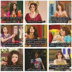 Alex Russo (Wizards of Waverly Place) i rarely watch this show but this if funny! Alex Russo, Disney Pixar, Disney And Dreamworks, Funny Disney, Selena Gomez, Old Disney Shows, Old Disney Channel Shows, Turn Down For What, Phineas Y Ferb