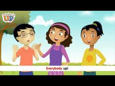 """""""Everybody Up"""" is a fun way to start your English classes or just get kids up and moving!! Substitute different commands...Everybody jump, everybody hop, everybody clap...  From the """"Everybody Up"""" textbook series."""