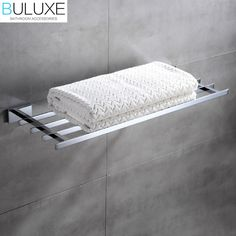 134.64$  Watch here - http://alich8.worldwells.pw/go.php?t=32767904223 - Brass Bathroom Accessories Towel Bar Rack Holder Chrome Finished Wall Mounted Bath Acessorios de banheiro HP7760 134.64$