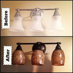 Can You Paint Bathroom Light Fixtures how to update bathroom lighting (it's as easy as changing a