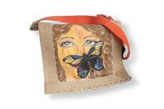 Bolso mujer con mariposa