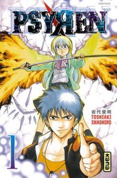 Psyren, tome 1 : Toshiaki Iwashiro.           La vie d'Ageha, lycéen, bascule le jour où il trouve une carte de téléphone « Psyren » ! Les détenteurs de cette carte sont propulsés dans un monde parallèle peuplé de monstres féroces. Ageha et ses amis vont devoir maîtriser leurs pouvoirs surnaturels pour espérer percer le mystère de Psyren !!