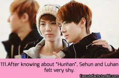 EXO FACT ♡ #KPOP - 111 WELL THEY SHOULD!!! =.= STOP SHIPPING THEM PEOPLE!!!!! PLEASE, I BEG OF YOU!!!!