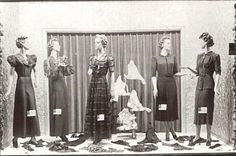 1930s store window display: Note the price cards!