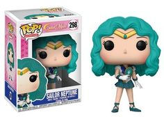 This wave of Sailor Moon Pop!s includes Sailor Neptune, Sailor Saturn, Sailor Uranus - complete with her Space Sword, the law abiding Sailor Pluto, and Sailor Chibi Moon! Sailor Chibi Moon, Sailor Neptune, Sailor Uranus, Sailor Moon Funko, Pop Sailor Moon, Funk Pop, Tuxedo Mask, Sailor Mercury, Pop Vinyl Figures