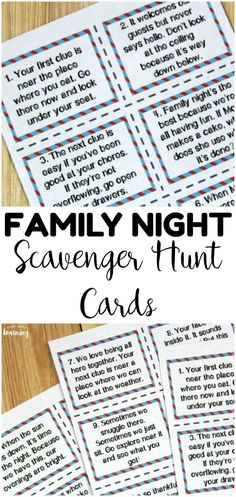 Printable Indoor Family Night Scavenger Hunt Cards – Look! We're Learning! Have an indoor scavenger hunt with these Around the House Indoor Scavenger Hunt Cards! Great for indoor play! Teen Scavenger Hunt, Scavenger Hunt Riddles, Outdoor Scavenger Hunts, Scavenger Hunt Birthday, Christmas Scavenger Hunt, Halloween Scavenger Hunt, Nature Scavenger Hunts, Photo Scavenger Hunt, Preschool Scavenger Hunt