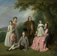 The Pybus family, by the British artist Nathaniel Dance Article: A Nabob's return: the Pybus conversation piece by Nathaniel Dance Jig Saw, Google Art Project, 18th Century Costume, Family Painting, European Paintings, Painting Gallery, A4 Poster, Vintage Artwork, Vintage Paintings