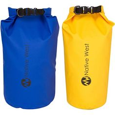 52f3f6f30633 Lightweight Compression Dry Bag with Shoulder Strap and Roll Top Closure  System Waterproof Floating Gear Sack for Boating Kayaking Fishing Rafting  Camping ...