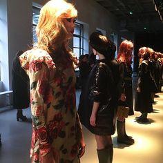 #junkoshimada #presentation #pretaporter #aw1718 #pfw #paris #fashionweek @parisfashionweek #CollezioniDonna  via COLLEZIONI MAGAZINE OFFICIAL INSTAGRAM - Celebrity  Fashion  Haute Couture  Advertising  Culture  Beauty  Editorial Photography  Magazine Covers  Supermodels  Runway Models