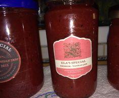 Rezept Erdbeer-Vanille Marmelade von Ela61 - Rezept der Kategorie Saucen/Dips/Brotaufstriche