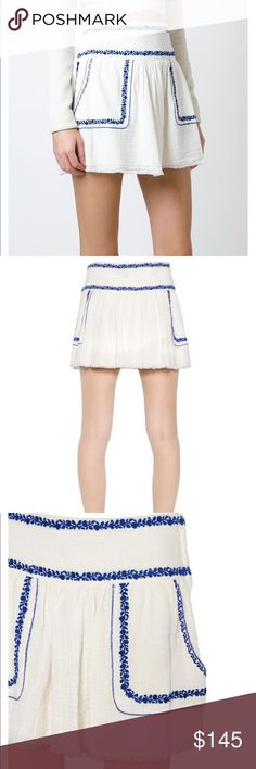 Never worn Isabel Marant Etoile Vittoria skirt Never worn. Very cute! Isabel Marant Skirts Mini