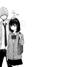 狼少女與黑王子 Wolf girl and black prince Romantic Anime Couples, Cute Anime Couples, Anime Love, Anime Guys, Erika Shinohara, Kyoya Sata, Vocaloid, Ruki Mukami, Hirunaka No Ryuusei