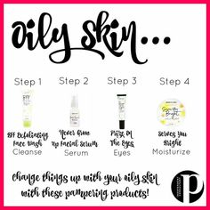Oily skin is can be treated without drying and harsh applications. Use natural products to heal naturally and create your best skin. Whitening Skin Care, Natural Teeth Whitening, Posh Products, Best Face Products, Natural Products, Beauty Products, Black Skin Care, Perfume, Posh Party