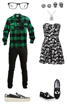 """Untitled #853"" by batman-oreo-ninja-master ❤ liked on Polyvore featuring moda, Betsey Johnson, SELECTED, Yves Saint Laurent e Joseph Marc"