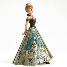Arendelle Royalty - Anna Castle Dress from Frozen - Disney Traditions Jim Shore