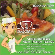 CARDÁPIO DE SEXTA-FEIRA 27/05/2016 Confira nosso cardápio completo em www.candydelivery.com.br Peça Já: 71 3491-9393 • 3491-4552 #querocomerbem #candydelivery