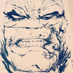 Batman (after Frank Miller) by Jock *