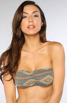 The Native Bandeau in Heather Charcoal by Obey