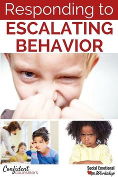 Responding to Escalating Behavior with a Coordinated Team Response Understand the escalating behavior cycle and create responsive plans that are effective and efficient. Avoid problem behaviors in the classroom, student meltdowns, and chronic disruptions. https://confidentcounselors.com/2018/01/11/de-escalation-strategies/?utm_campaign=coschedule&utm_source=pinterest&utm_medium=Confident%20Counselors&utm_content=Responding%20to%20Escalating%20Behavior%20with%20a%20Coordinated%20Team%
