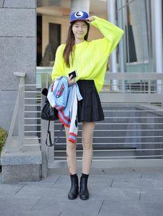 Jin Jungsun at Seoul Fashion Week shot by Choi Seung Jum