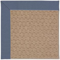 Capel Zoe Grassy Mountain Machine Tufted Azure/Brown Area Rug Rug Size: 12' x 15'