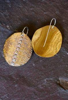 Tribal Earrings, Sterling Silver Dangle Earrings, Tribal Jewelry, Hoop Earrings, Gypsy Jewelry, Jewelry Shop, Handmade Jewelry, Handmade Items, Jewellery