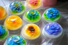 perfect for wonderland jello flowers