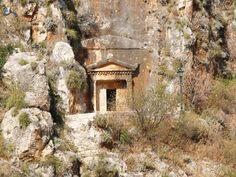 Lycian Rock Tomb, Kastelorizo Island, Greece