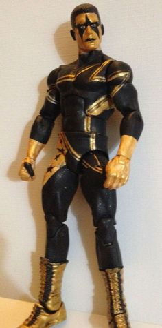 Wwe Mattel Elite Stardust Custom Figure 6inches #Mattel