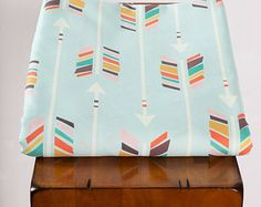 coral and mint arrow fab - Google Search